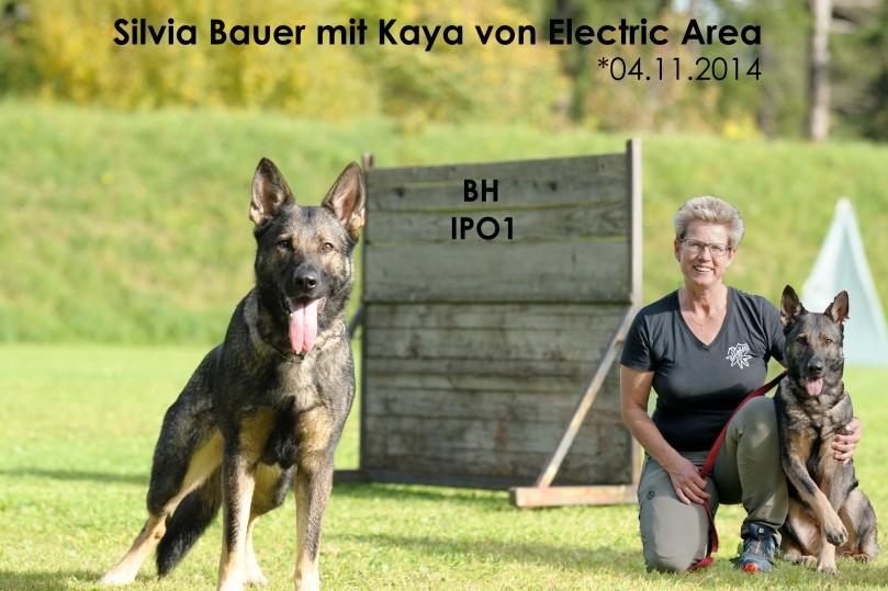 Silvia mit Kaya